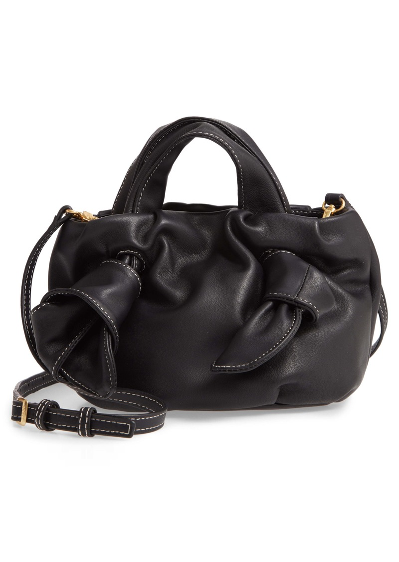 STAUD Ronnie Leather Crossbody Bag