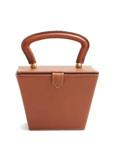 Staud Sadie mini leather box bag