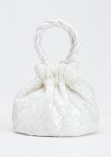 Staud Sequin Grace Top Handle Bag