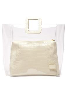 Staud Shirley large leather & PVC tote bag