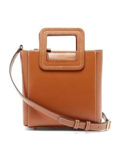 Staud Shirley mini leather shoulder bag