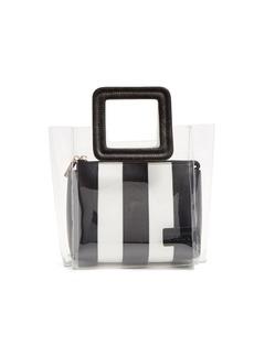 Staud Shirley mini leather & PVC tote