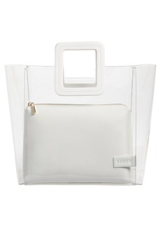 STAUD Shirley Transparent Handbag