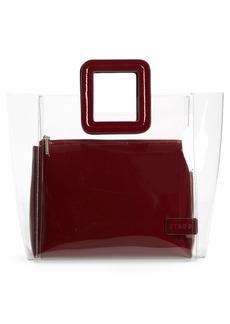 STAUD Shirley Transparent Handbag