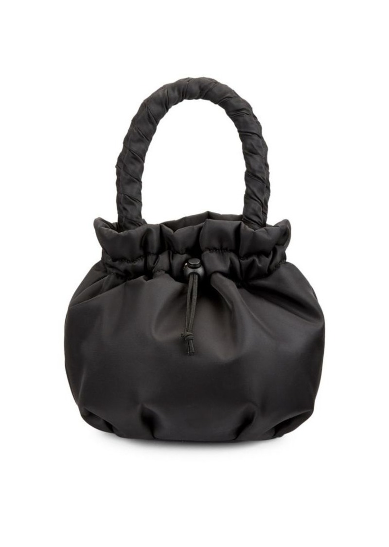 Stella Top Handle Bucket Bag