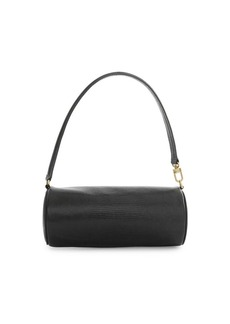 STAUD Suzy Lizard Embossed Leather Bag & Case Set