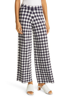 Women's Staud Avalanche Gingham Pull-On Pants