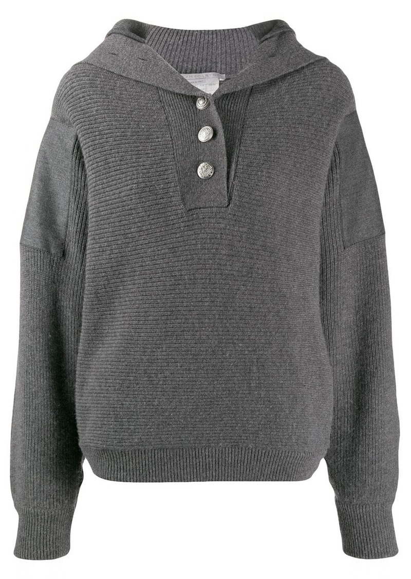 Stella McCartney button placket jumper