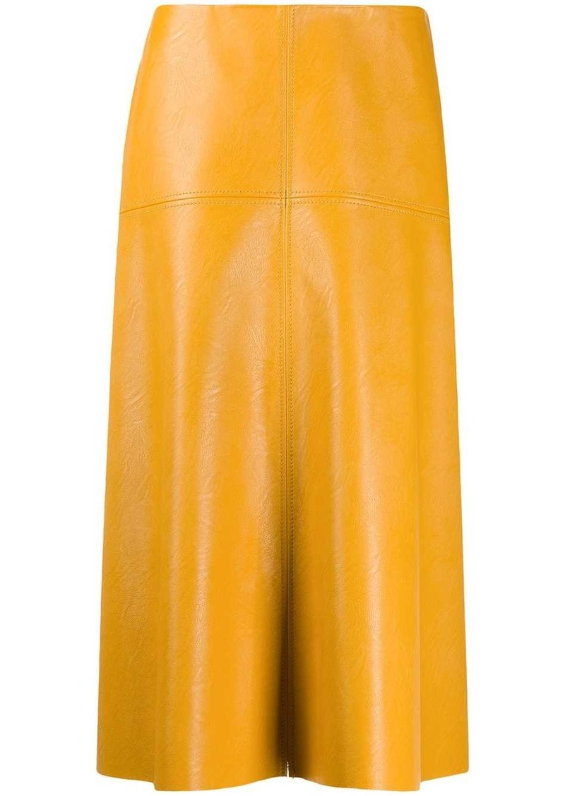 Stella McCartney faux leather skirt