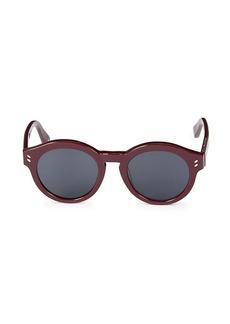 Stella McCartney 48MM Round Sunglasses