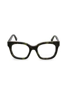 Stella McCartney 49MM Square Optical Glasses