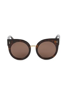 Stella McCartney 51MM Cat Eye Core Sunglasses