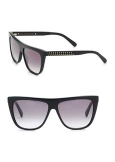 Stella McCartney 56MM Rectangle Sunglasses
