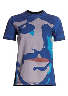 Stella McCartney Abstract Cotton Tee