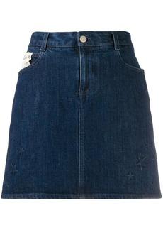 Stella McCartney All Is Love denim mini-skirt