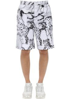 Stella McCartney All Over Print Timothy Cotton Shorts
