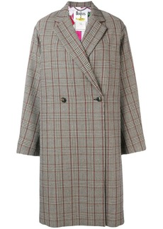 Stella McCartney All Together Now check coat