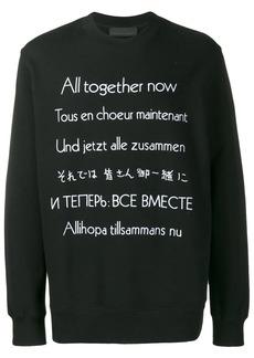 Stella McCartney All Together Now sweatshirt