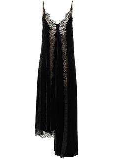 Stella McCartney asymmetrical lace panel dress