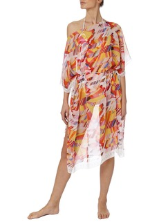 Stella McCartney Beatles Yellow Submarine Silk Coverup Kaftan