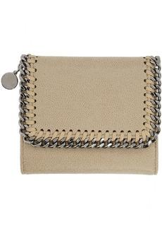 Stella McCartney Beige Small Falabella Flap Wallet