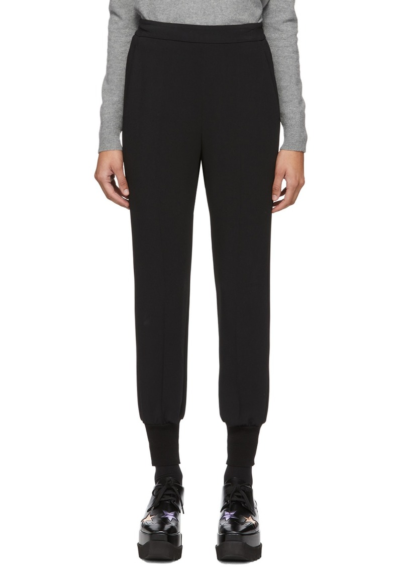 Stella McCartney Black Cady Julia Trousers