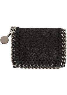 Stella McCartney Black Falabella Trifold Wallet