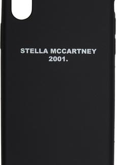 Stella McCartney Black 'Stella 2001' iPhone X Case