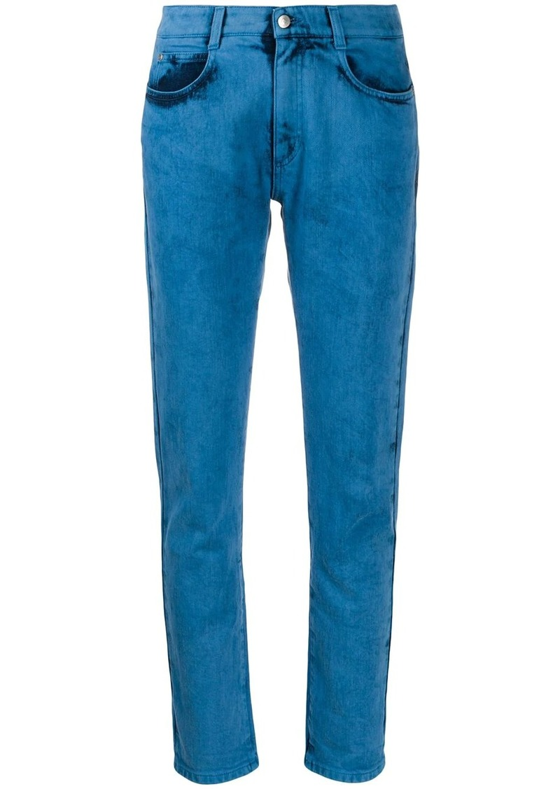 Stella McCartney bleached slim jeans