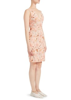 Stella McCartney Bloomer Floral Sleeveless Mini Dress
