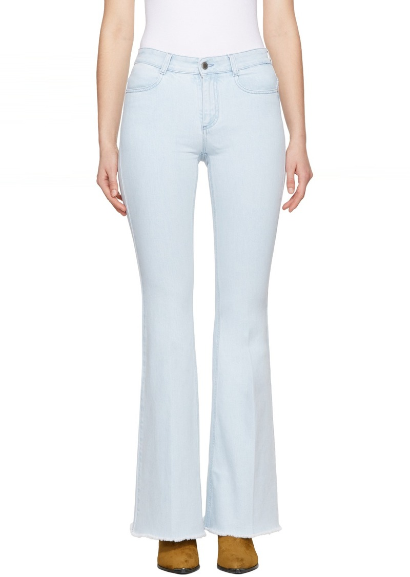 Stella McCartney Blue 'The 70's Flare' Jeans