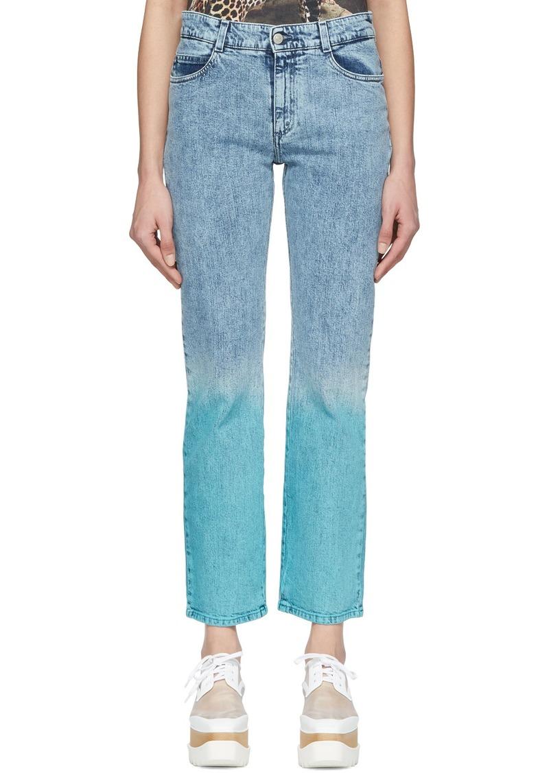 Stella McCartney Blue 'The Straight Boyfriend' Jeans