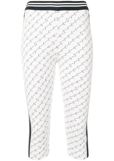 Stella McCartney branded cropped leggings
