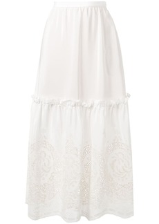 Stella McCartney broderie anglaise skirt
