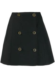 Stella McCartney buttoned high-waisted skirt