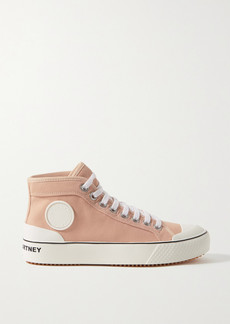 Stella McCartney Canvas High-top Sneakers