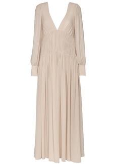 Stella McCartney Carleigh silk-georgette maxi dress