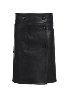 Stella McCartney Carly Faux-Leather Skirt