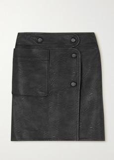 Stella McCartney Carly Vegetarian Leather Skirt