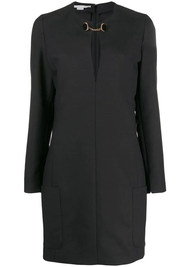 Stella McCartney chain strap shift dress
