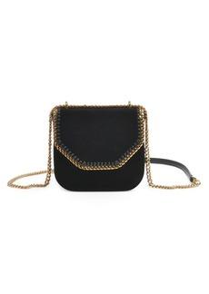 Stella McCartney Chain Velvet Shoulder Bag