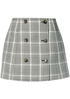 Stella McCartney check mini skirt