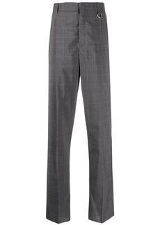 Stella McCartney checkered straight-leg trousers