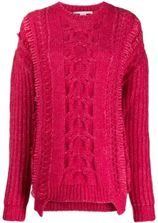 Stella McCartney chunky cable knit sweater