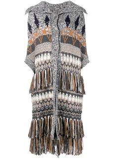 Stella McCartney chunky knitted coat