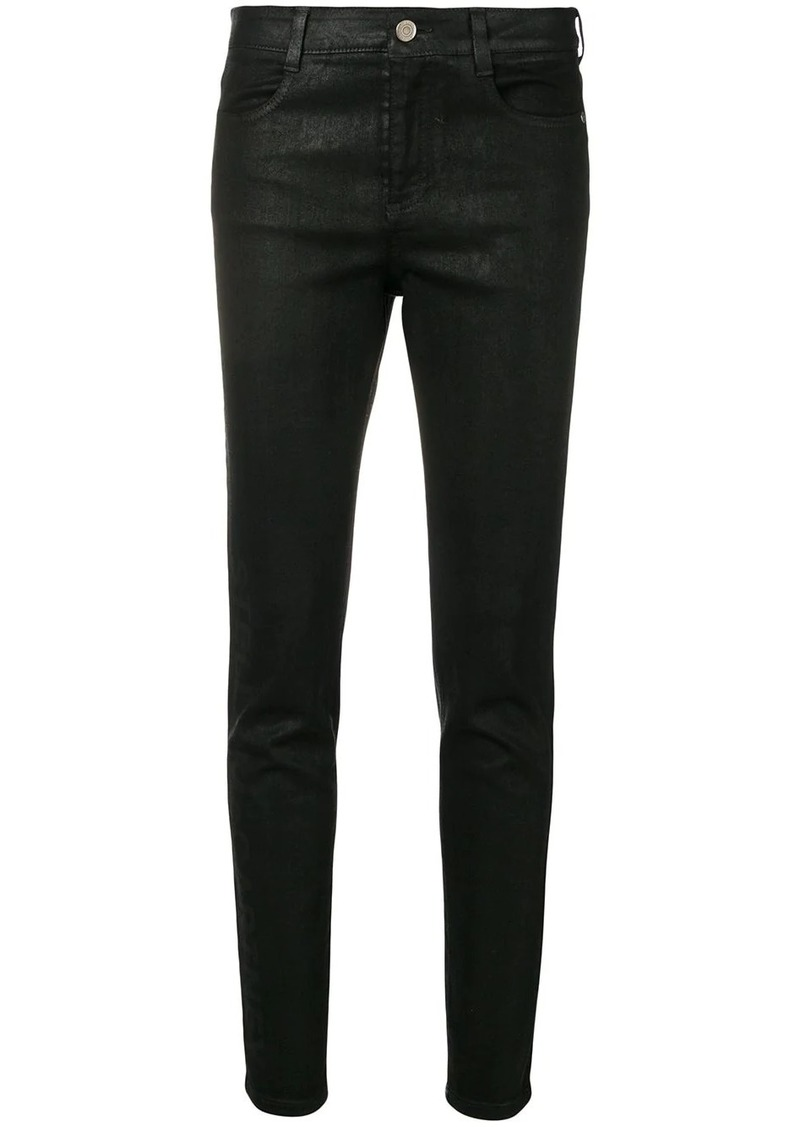 Stella McCartney coated skinny jeans