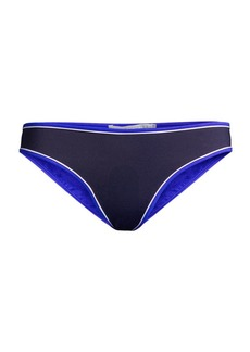 Stella McCartney Contrast-Trim Bikini Bottom
