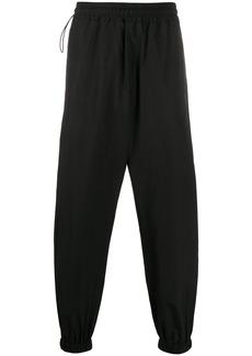 Stella McCartney cotton tapered track pants