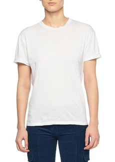 Stella McCartney Crewneck Short-Sleeve Cotton T-Shirt with Star