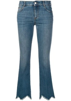 Stella McCartney cropped flare jeans